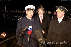 Командующий ВМС Голландии посетил Северный флот