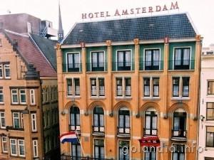 Отель De Roode Leeuw в Амстердаме