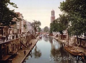 Канал Аудеграхт в Утрехте