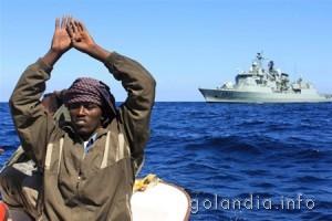 Голландскими ВМС задержаны пираты