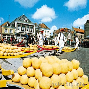 Ярмарка сыров Алкмаар