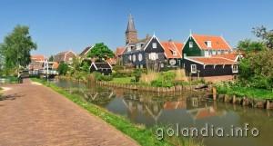 Город Маркен Голландия