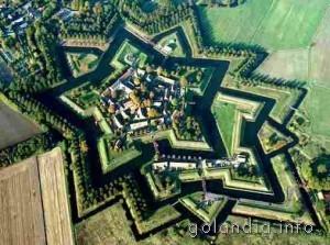 Форт крепость в Гронингене