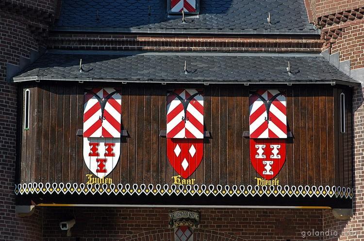 Балкон замка де Хаар