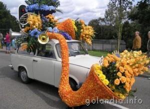 Алсмеер, цветочный парад
