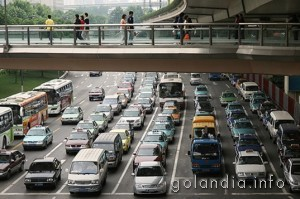 трафик на дорогах Голландии