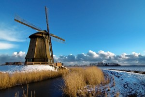 зима в Голландии