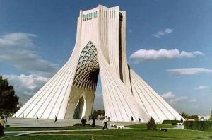 Площадь Азади в Тегеране