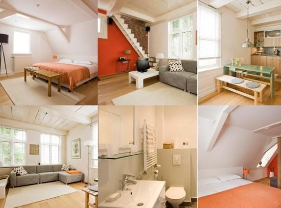 Juuls Apartments. Милая студия на двоих (Амстердам)