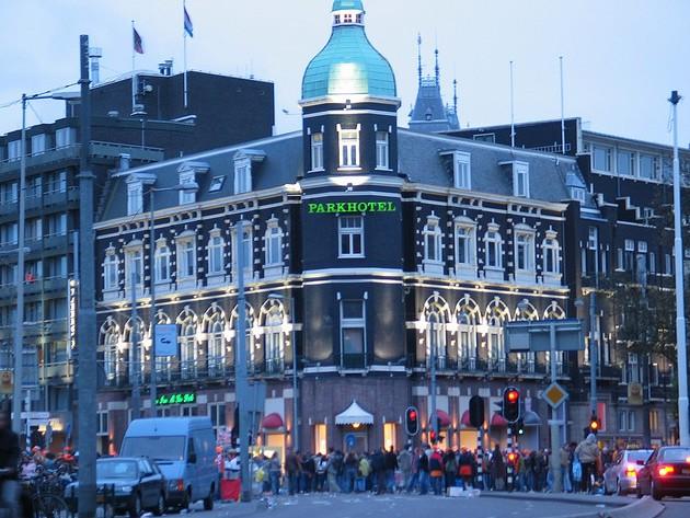 Park Hotel. Шикарный отель в шикарном месте (Амстердам)