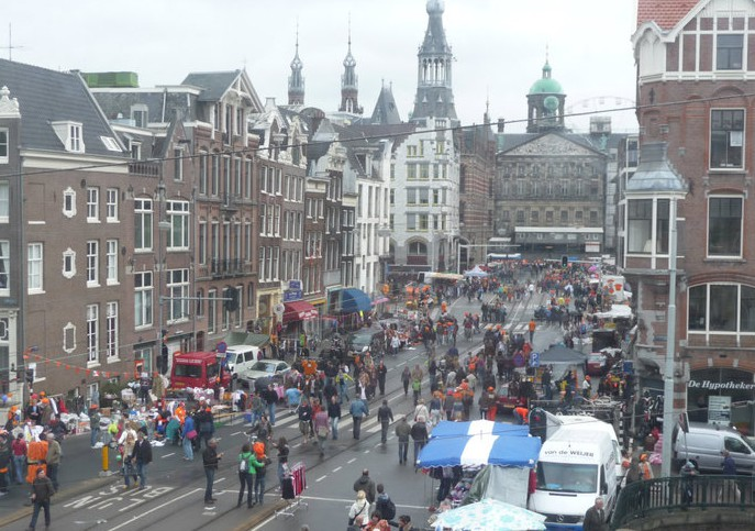 Di Ann. С видом на королевский дворец (Амстердам)