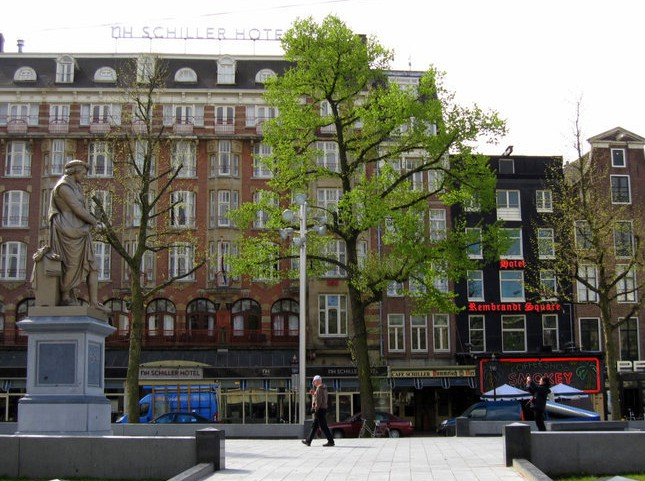 Rembrandt Square Hotel. Ночевка в ночном клубе (Амстердам)
