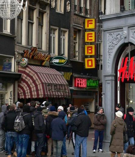 Febo. Амстердамский фастфуд