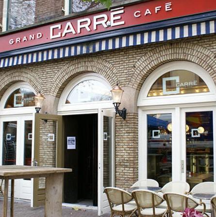 Grandcafe Carre. Еда с видами (Утрехт)