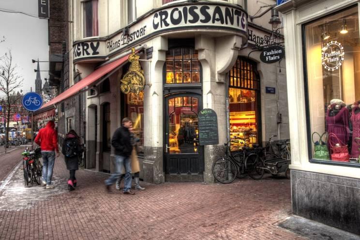 Croissanterit. Закусить на ходу (Неймеген)