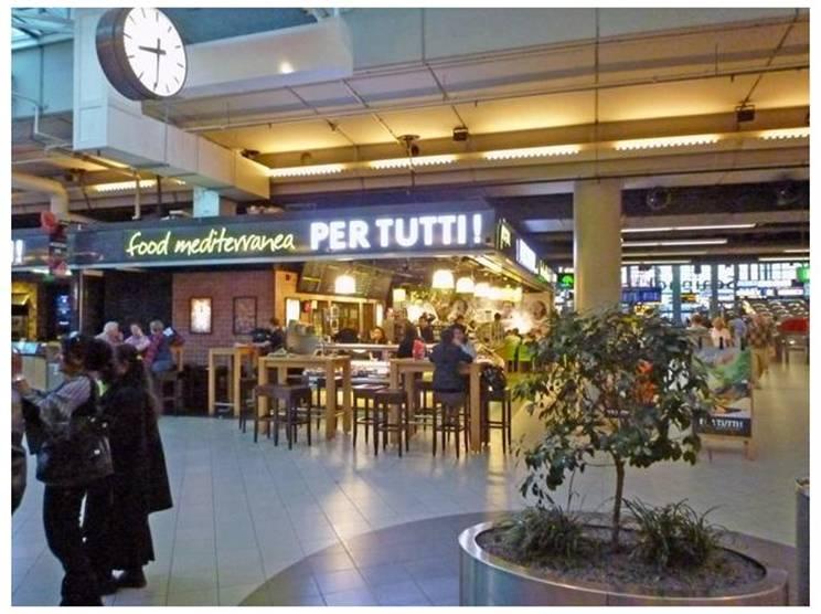 Per Tutti. Итальянское на голландском фоне (Схипхол)