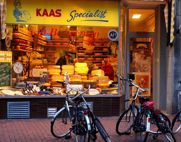 Kaas specialist. Специалисты по сырному делу (Лейден)