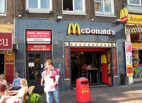 Макдоналдс. Заурядное место (Амстердам)
