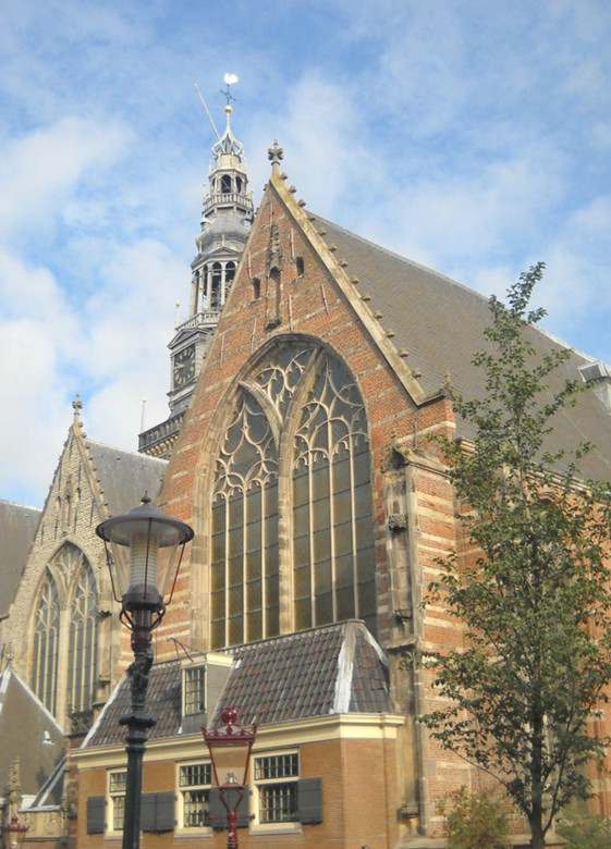 Аудекерк. Прекрасный памятник средневековья (Амстердам)