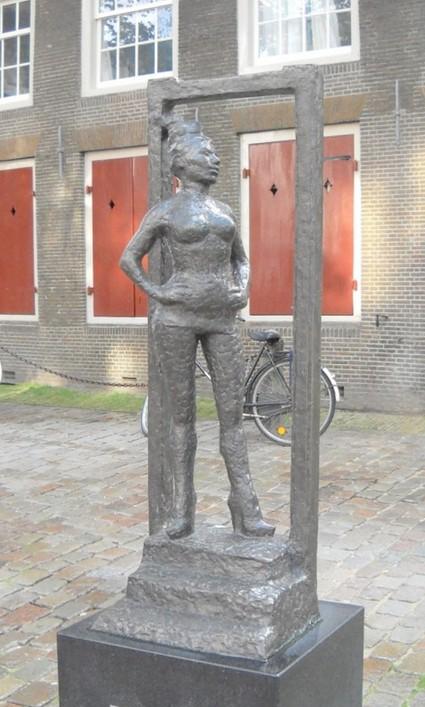 Памятник жрице любви. Как дань признательности (Амстердам)