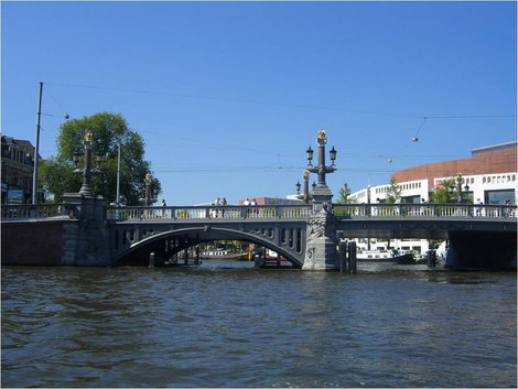 Синий мост / Blauwbrug (Амстердам)