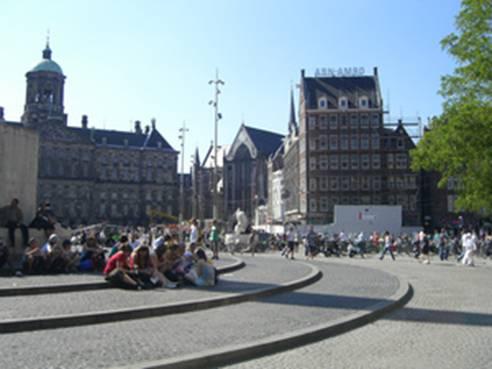 Площадь Дам / De Dam (Амстердам)