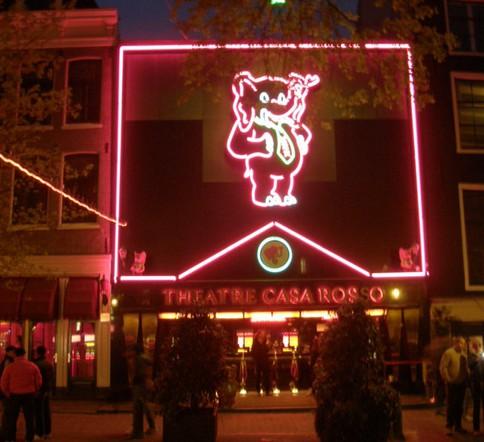 Casa Rosso   Порнографический театр. Амстердам