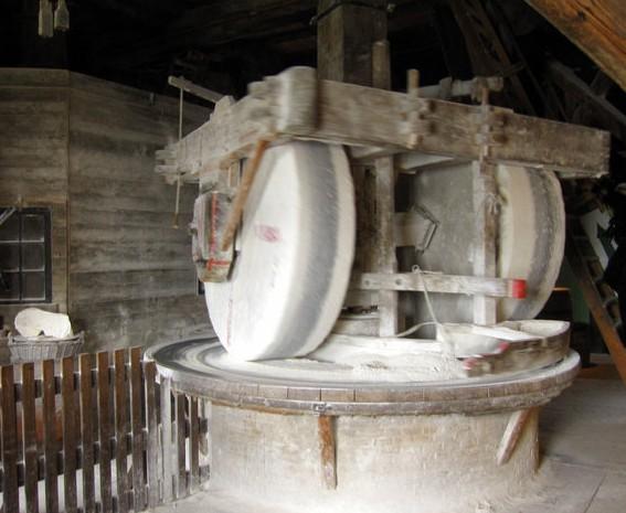 Мельница по производству красок. Зансе Сханс