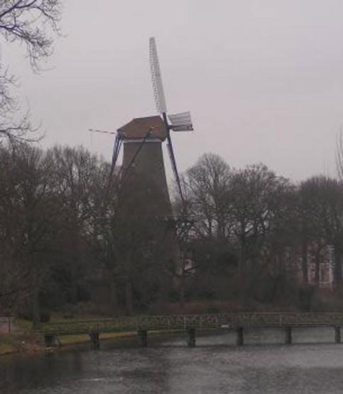 Мельница / Molen van Piet. Алкмар