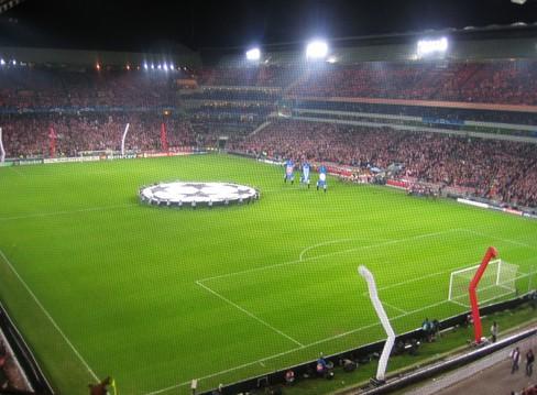 Стадион Philips. Эйндховен