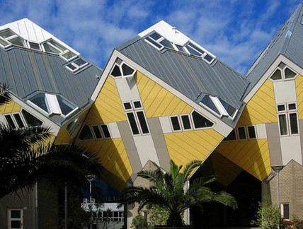Кубические дома. Роттердам