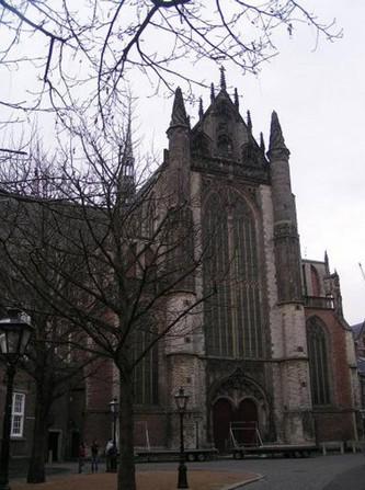 Церковь Hooglandse Kerk. Лейден
