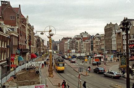 Улица Рокин. Амстердам