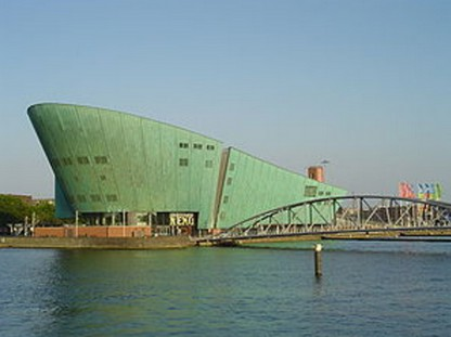 Музей Немо. Амстердам