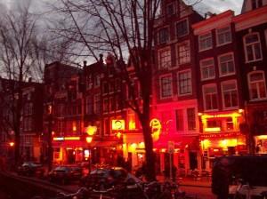 Кварталы красных фонарей в Нидерландах