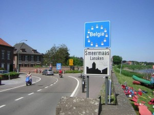 Изменится граница между Нидерландами и Бельгией
